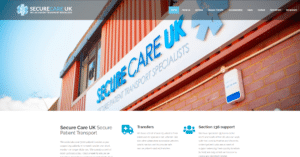 SecureCare Front Page